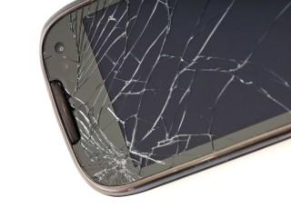 roturas de pantalla en móviles