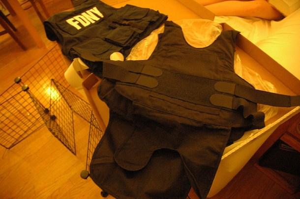 bulletproof vest - kevlar