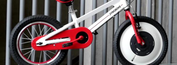 Inventan una bici para niños que evita las caídas