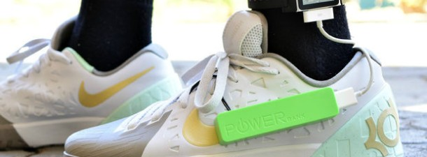 Now you can charge your gadgets while you run with power-generating insoles