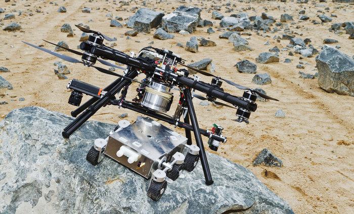 ¿Drones en Marte?