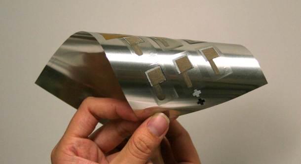 baterías impresas flexibles