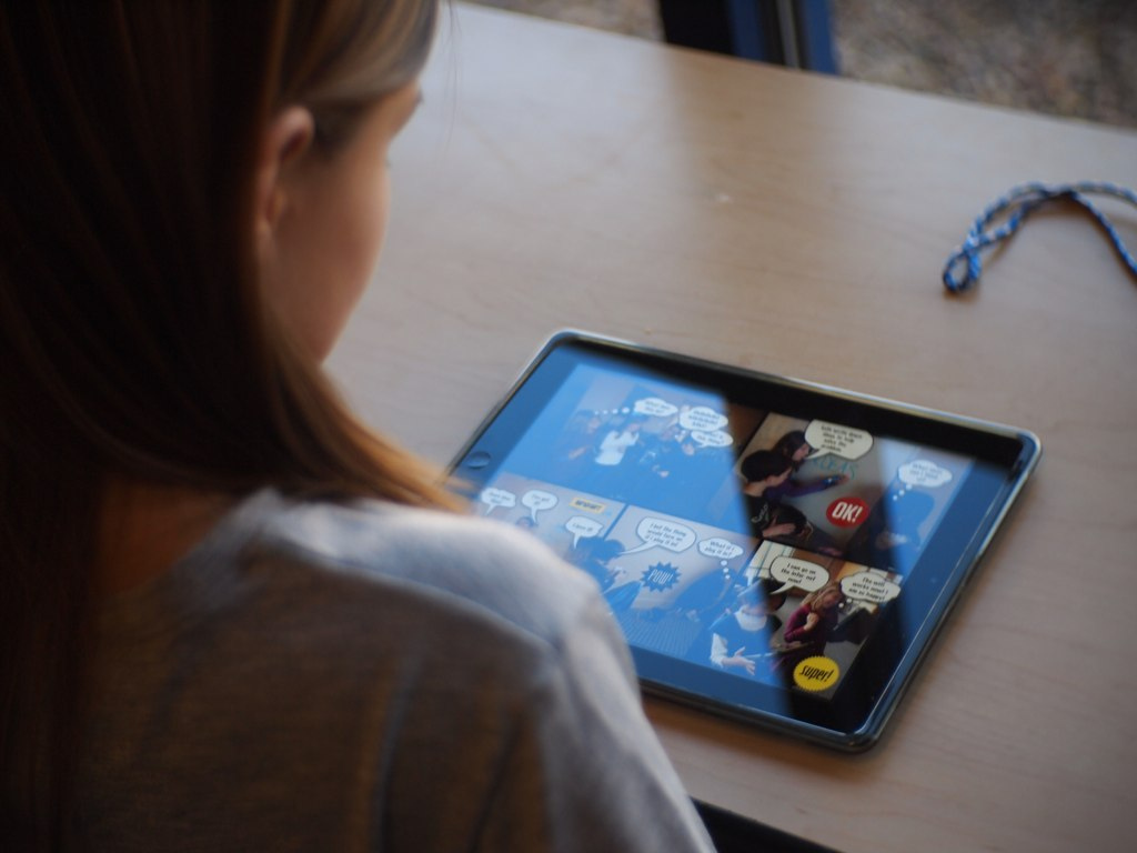 Can tablets in education be used to help children with autism?