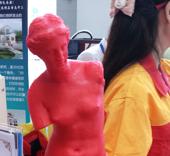 Esta impresora 3D permite hacer réplicas de humanos a escala 1:1