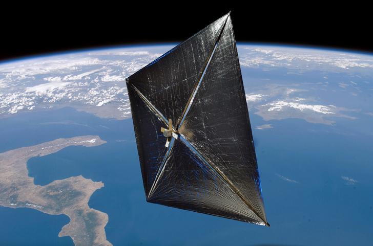 Dentro de dos años, el sueño de Carl Sagan se hará realidad: la vela solar