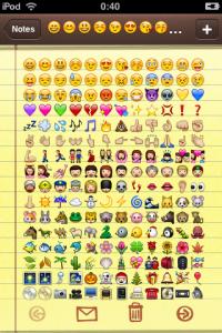 el origen de los emojis