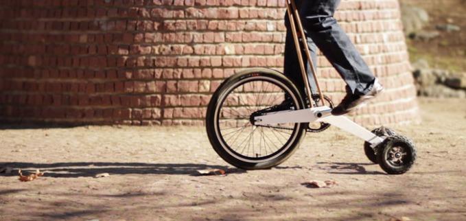 Halfbike: la bicicleta del futuro es vertical