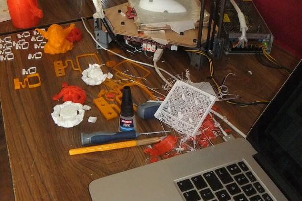adopción masiva de las impresoras 3D