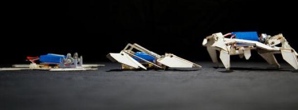 Robots capaces de autoensamblarse para misiones especiales de rescate