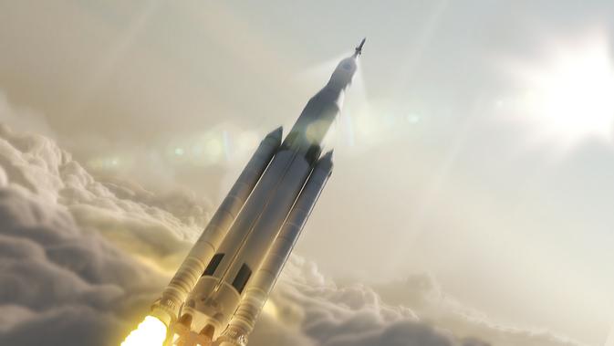 La NASA presenta nuevo cohete con el que planea llevarnos a Marte