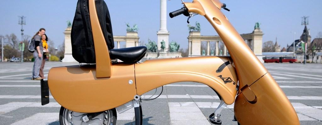 scooter eléctrico plegable
