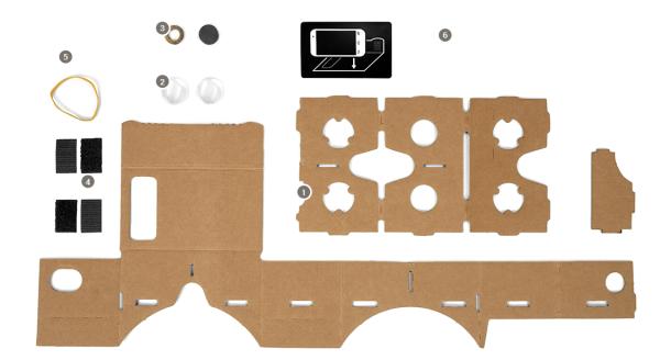 Cardboard realidad aumentada