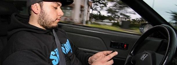 Un nuevo radar para cazar a los conductores que manden WhatsApp