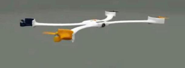 Crean un drone que se acopla a la muñeca como una pulsera