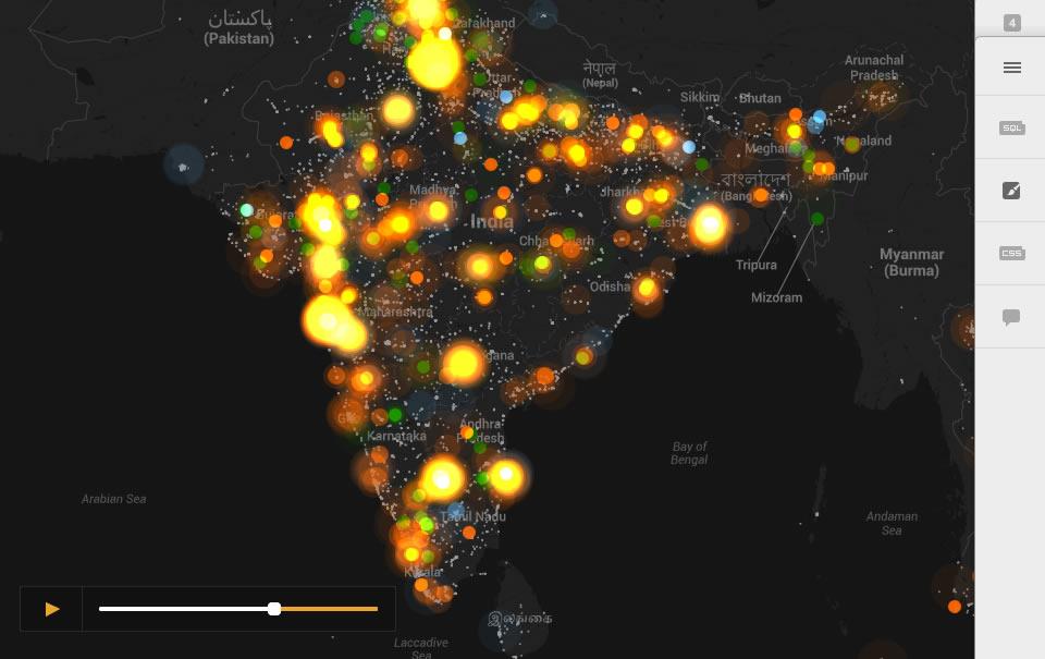 CartoDB y cuatro herramientas más de visualización de datos