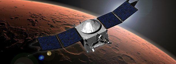 La sonda Maven llega a Marte tras diez meses de viaje