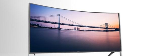 ¿Cuál es el sentido de los televisores curvos?