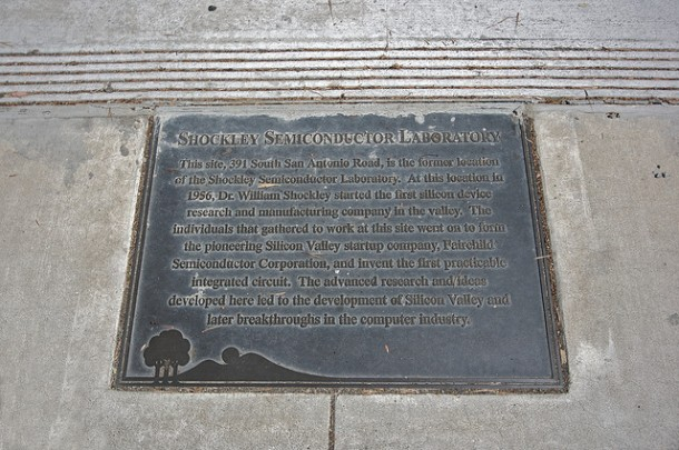 Fairchild placa Shockley