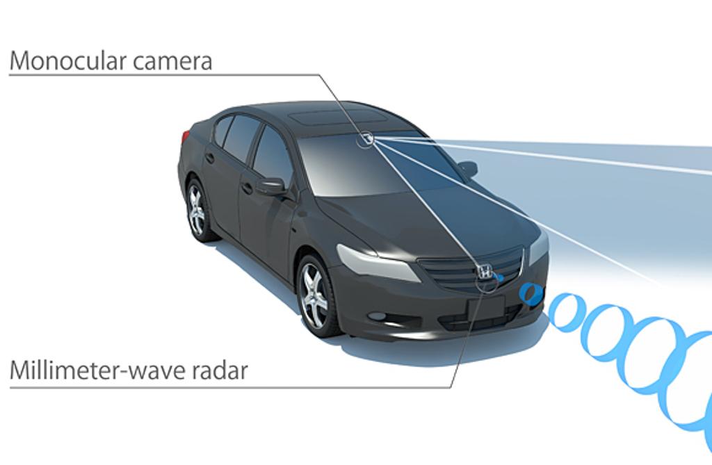 Los sistemas de Ford y Honda para evitar atropellos de peatones