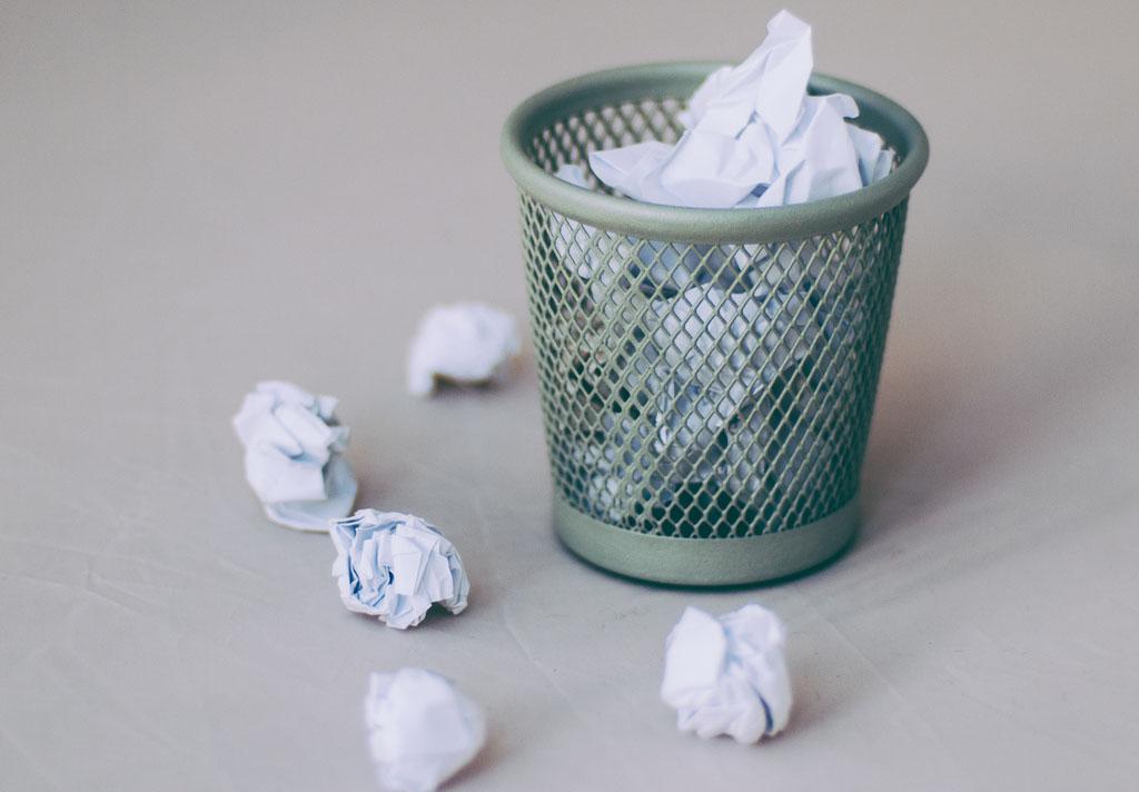 ¿Qué pasa con los archivos cuando son eliminados de la papelera de reciclaje?