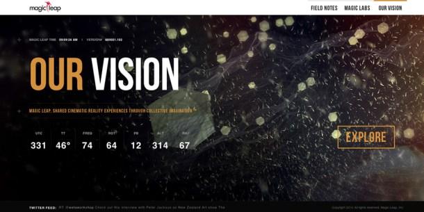 tecnología de realidad cinemática Magic Leap