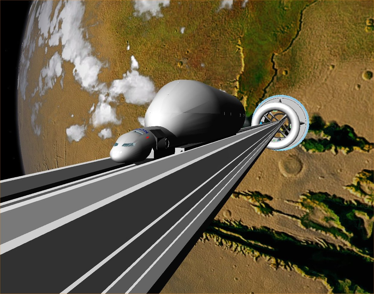 El ascensor espacial de nanotubos de carbono podría ser una realidad en 40 años