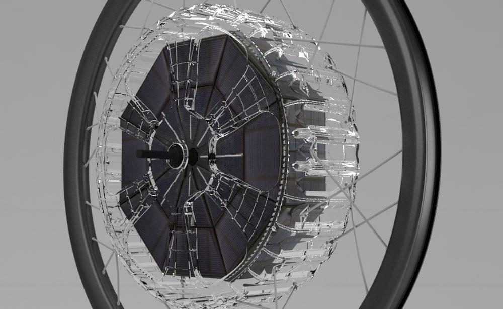 Un gadget que convierte las bicicletas en bicicletas eléctricas solares