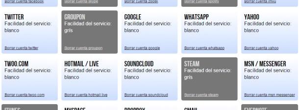 Cómo eliminar (y no sólo desactivar) tus viejas cuentas de servicios online