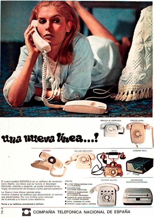 Telefónica 6 - anuncio líneas
