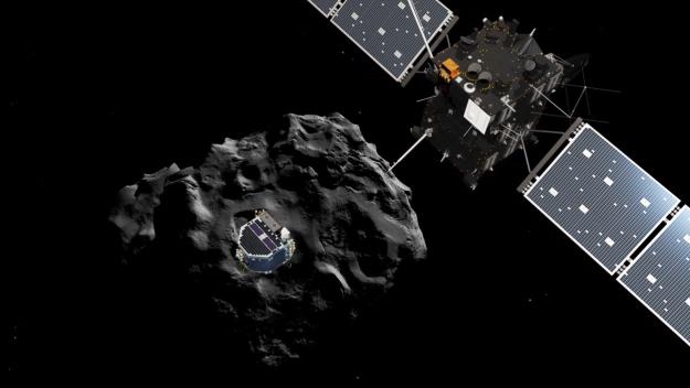 Philae descubre moléculas orgánicas sobre el cometa 67P