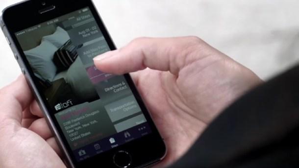 Abrir la habitación del hotel con el smartphone
