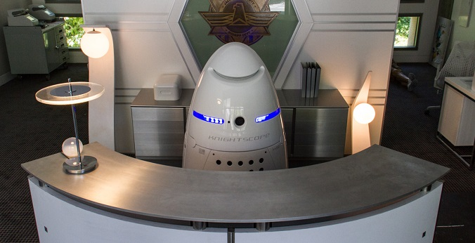 El robot K5 puede ser el sustituto de los guardias de seguridad
