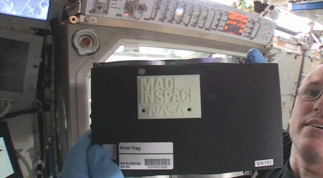 La impresión 3D llegó al espacio