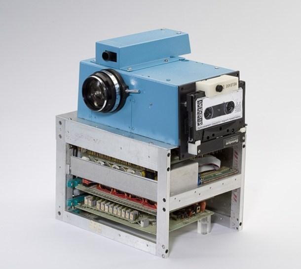 primera cámara digital