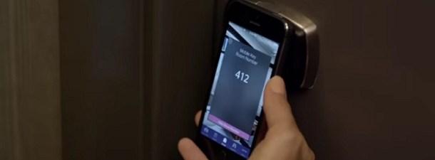 La nueva llave de la habitación del hotel será un smartphone