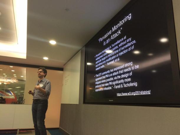 Daniel Appelquist at London Web Standards