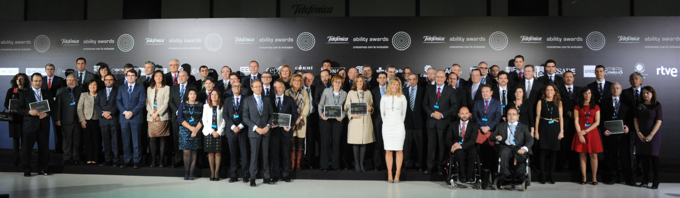 Los Telefónica Ability Awards apuestan por un mundo sin barreras