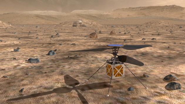 Estos son los desafíos que debemos superar para que los drones lleguen a Marte