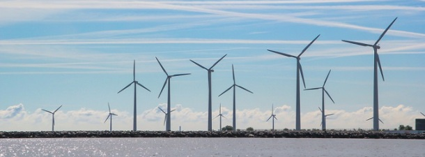 En 2014 Dinamarca obtuvo el 39% de su electricidad del viento