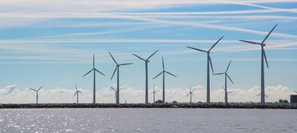 Energía eólica en Dinamarca