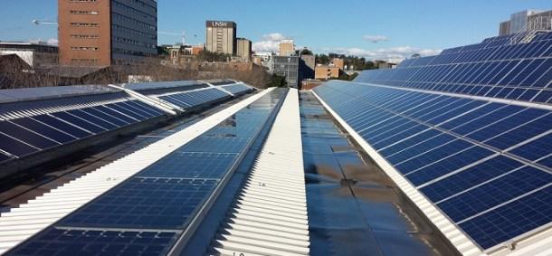 Energía solar en Estados Unidos