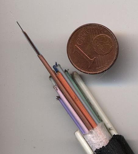 fabrica la  fibra óptica