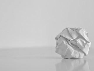 reutilización del papel