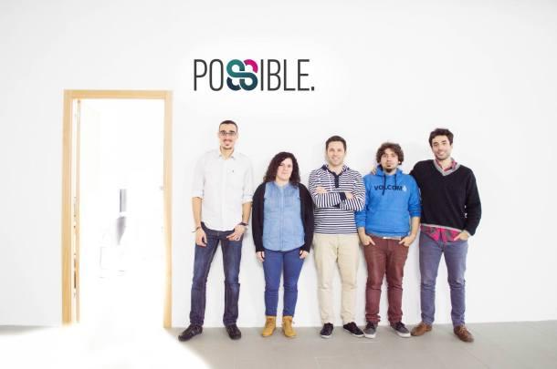 El equipo de Possible Inc desarrolladores del servicio ganador Garagapp
