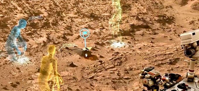 Microsoft y la NASA: cómo aprovechan HoloLens para explorar Marte