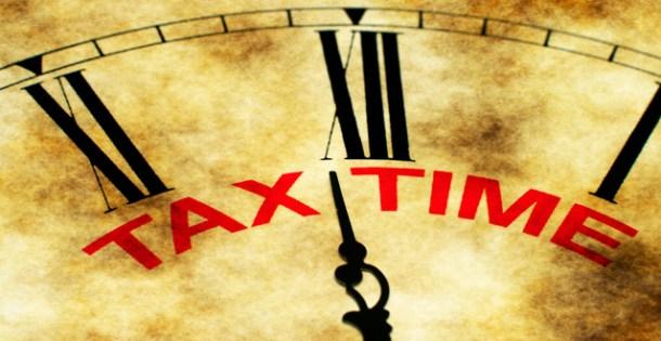 Tax time 2