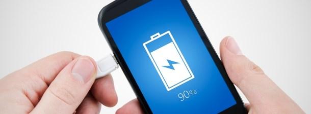 La mejor forma de cargar la batería de tu smartphone