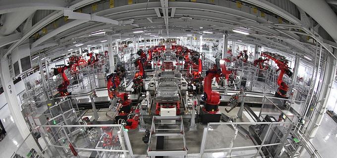 La sustitución de trabajadores por robots en China