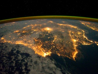 farolas bioluminiscentes