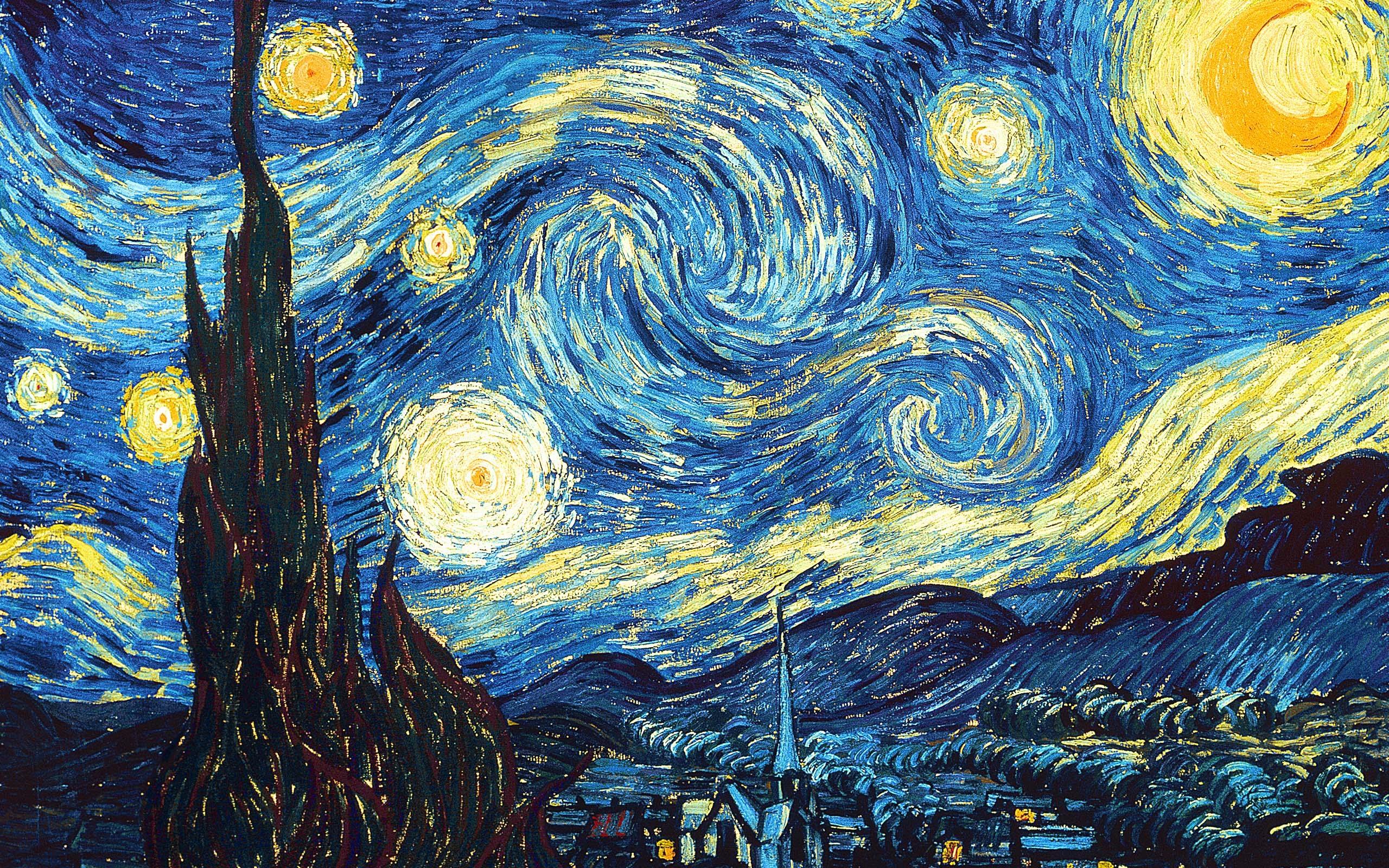 ¿Vestido azul y negro? Ahora la ciencia se fija en los cuadros de Van Gogh